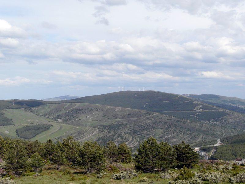 De la Cordillère Cantabrique à l'Andalousie par de petites sierras mais aussi par la terrible Mancha et son soleil de plomb