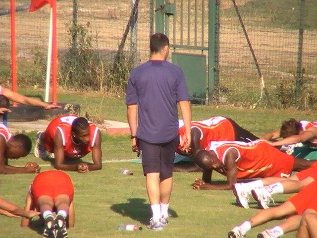 Quelques photos du premier entrainement (25 juin 2010)