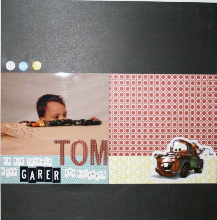 Album - Pages de scrap