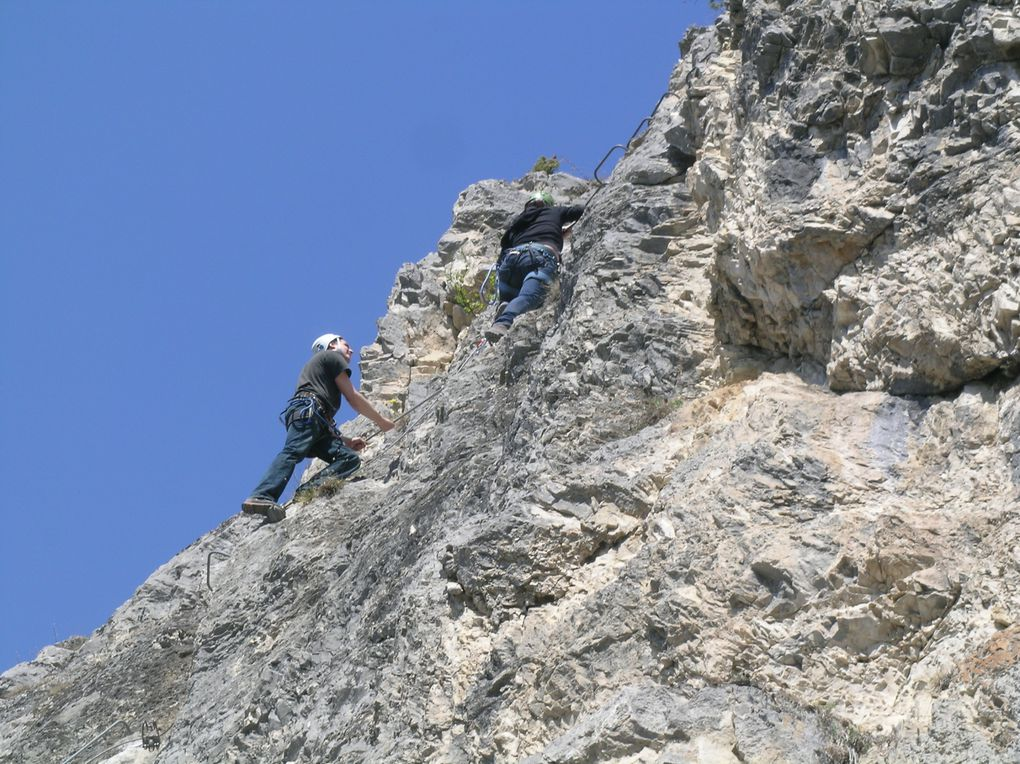 Album - Via-Ferrata-de-Nax-13-avril-2009