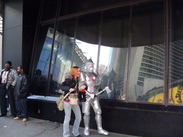 Photos d'un voyage entre soeurs à New York le 28, 29 et 30 novembre 2008