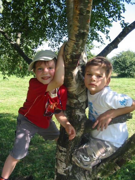Les enfants durant les vacances d'été 2008