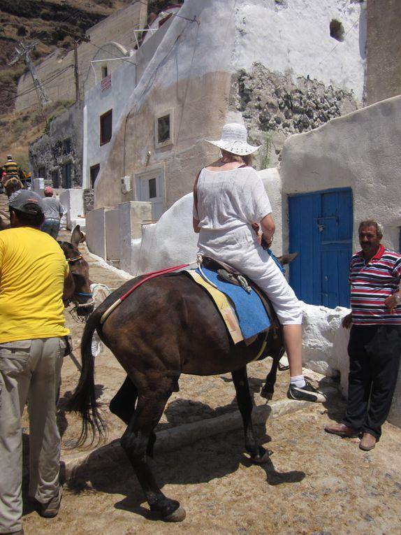Croisière dans les îles Grecques en Juillet 2012 pour fêter nos 25 ans de mariage.
