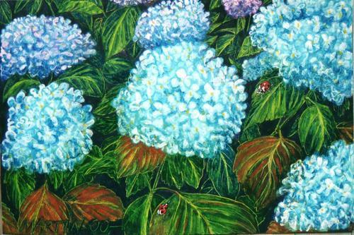 Extraits d'une série de pastels à l'huile,sur différents grands formats, réalisés entre 1999 et 2001.