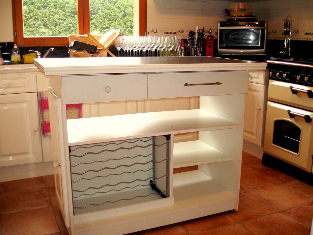 Quelques réalisations sur mesure de mobilier d'intérieur et d'extérieur