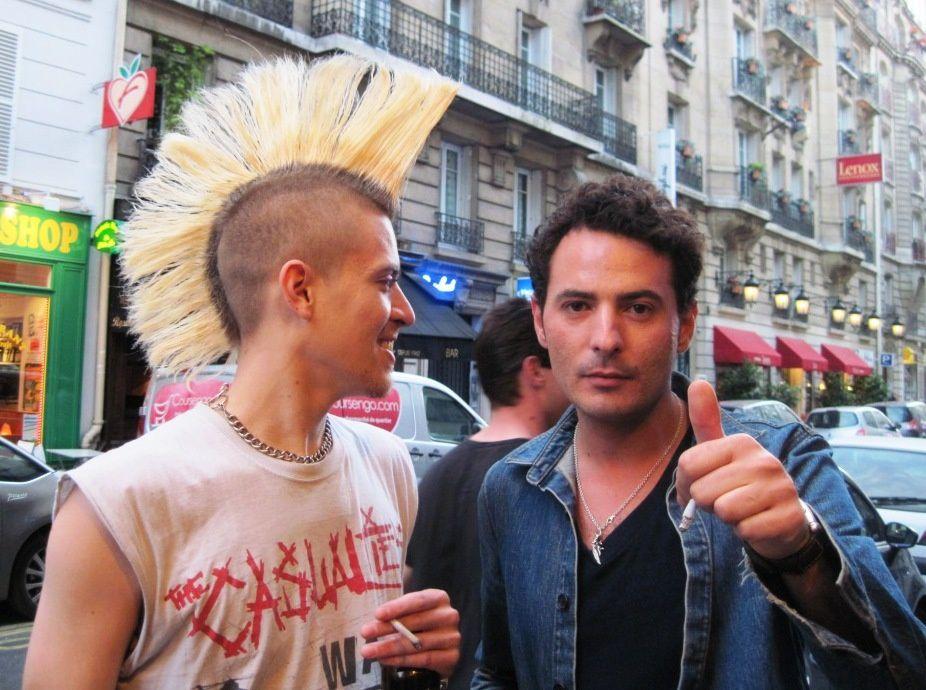 """Lauréats : Olivier Steiner pour son roman """"Bohème"""", Gallimard 2012 et Stéphane Million pour sa revue littéraire""""Bordel"""""""