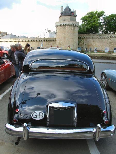 Rassemblement de Jaguar à Vannes ledimanche 18 Mai 2008
