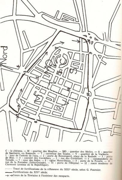 Documents divers destinés à montrer les différents visages de Clermont-Ferrand au cours des siècles