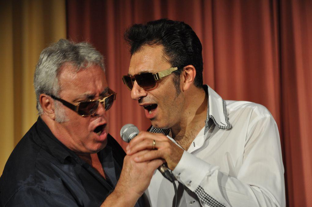 Jean-Marie Pouzenc et Ricky Norton. sur les traces d'Elvis.En Concert à Bad Nauheim.(ou Elvis à fait son service militaire)