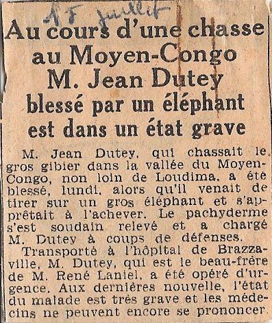 Photographies d'Yves Jandon à Dolisie et dans le Niari dans les années 1950.Avec en prime quelques clichés de Brazzaville.