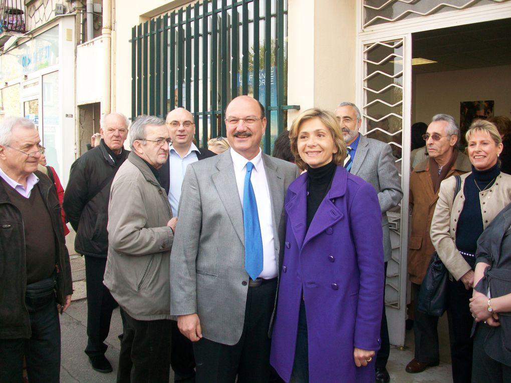 Inauguration de ma permanence de campagne en présence de Valérie Pécresse et davant plus de 60 sympathisants!