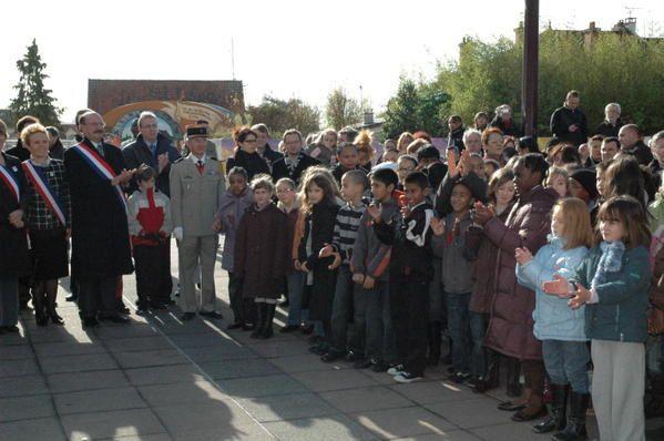 Commémoration du 90ème anniversaire de l'armistice de la guerre 1914-1918 à Villiers