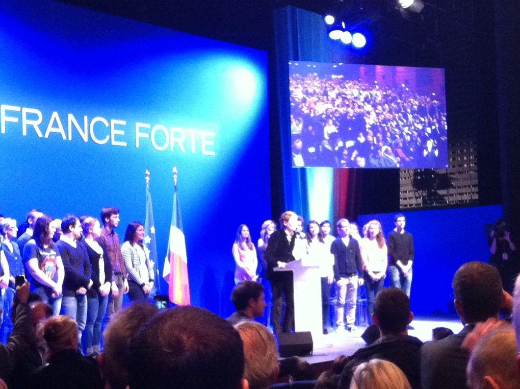 Meeting de Nicolas Sarkozy à Longjumeau