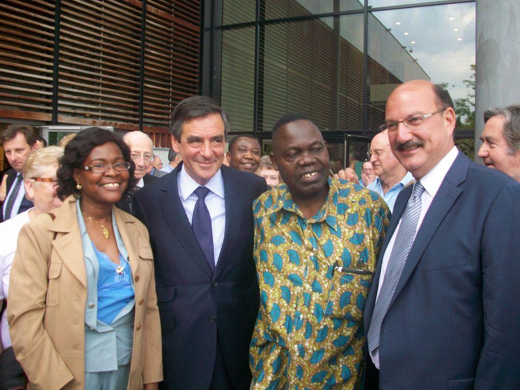 Visite exceptionnelle de l'Ancien Premier Ministre à l'ESCALE pour soutenir ma candidature aux élections législatives