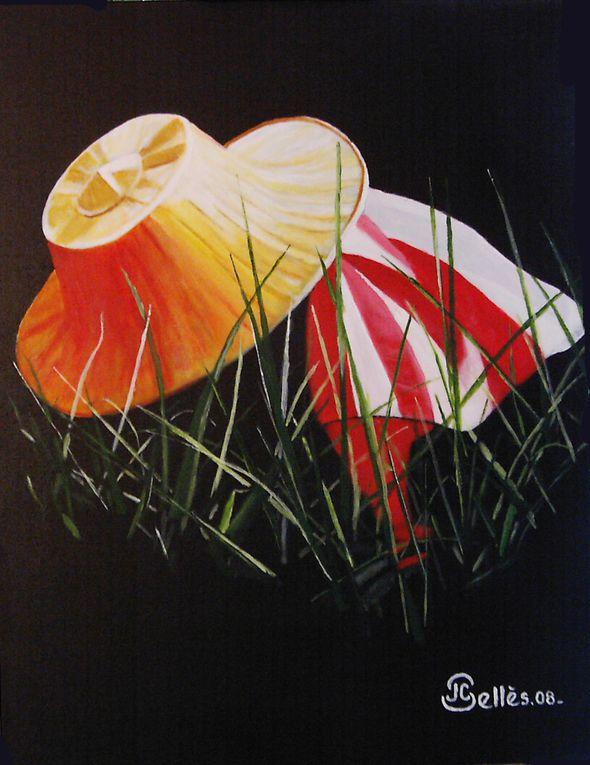 """La série """"Ombres et lumières du Monde"""". Acrylique sur toile de lin."""