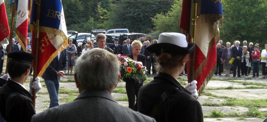 12 septembre 2010. Hommage à Boulay-en-Moselle aux milliers de disparus Ukrainiens et autres Slaves au Ban-Saint-Jean.