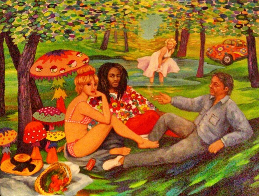 Des artisans et des artistes émérites comme les années précédentes. Notre coup de coeur : Fabrice Schandrin, Haute Coiffure Française, de Hagondange