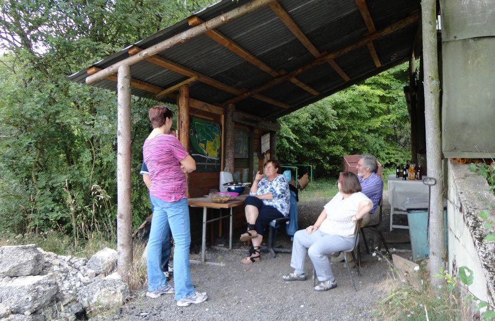 """Rendez-vous des amoureux de la nature, mais le plus souvent celui des bénévoles opérant pour le compte de l'association """"Le Vieux Lavoir""""."""