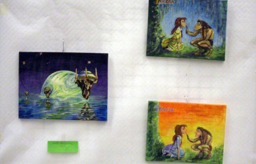Maints talents artistiques à Ebersviller mis en lumière par Familles rurales.