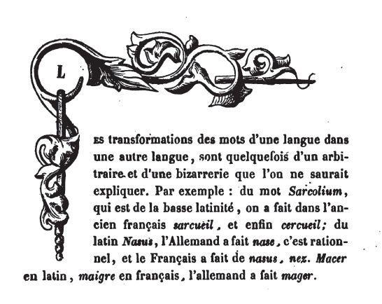 Etymologie des noms des villages mosellans. 1830