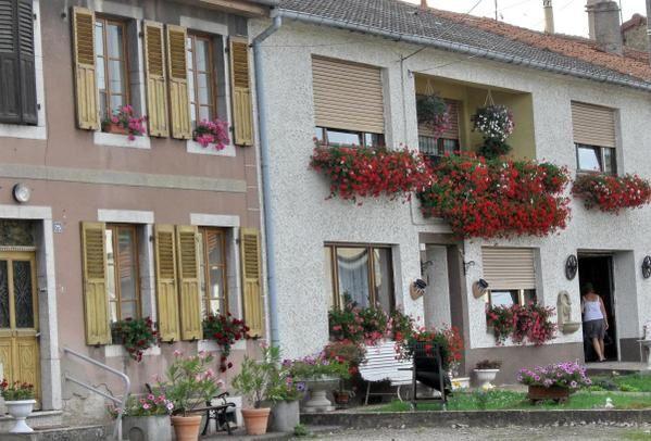 Eté 2008 à la découverte des maisons fleuries