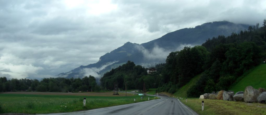 Innsbruck en travaux et sous la pluie