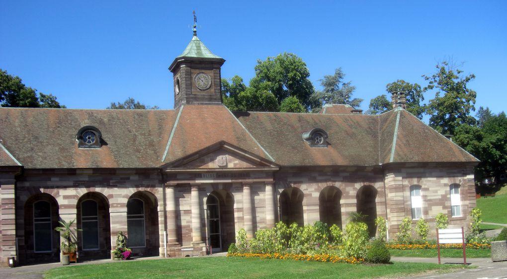 Aux portes du parc régional des Vosges, aux confins de la Lorraine, de l'Alsace et de la Bourgogne, ville d'eau depuis l'antiquité, Luxeuil jouit d'une patrimoine architectural moyen-âge/renaissance intéressant.