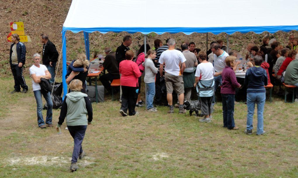 10e édition de la traditionnelle marche du 14 juillet organisée par l'association de sauvegarde du Fort aux Fresques de Hestroff