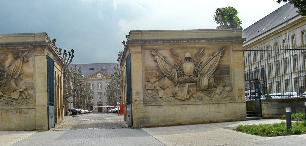 Metz est une belle ville et n'a pas attendu l'effet Pompidou pour le faire savoir...