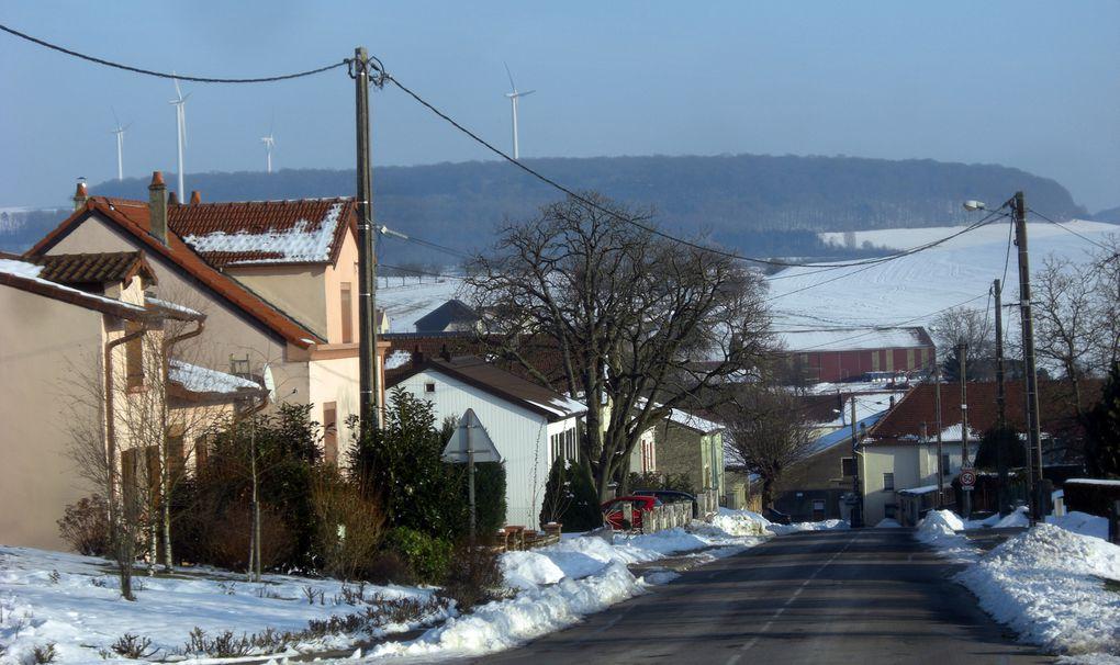 Balade traditionnelle du nouvel an de Hestroff à Tromborn via Gomelange, Bettange, Guirlange, Velving, Teterchen.