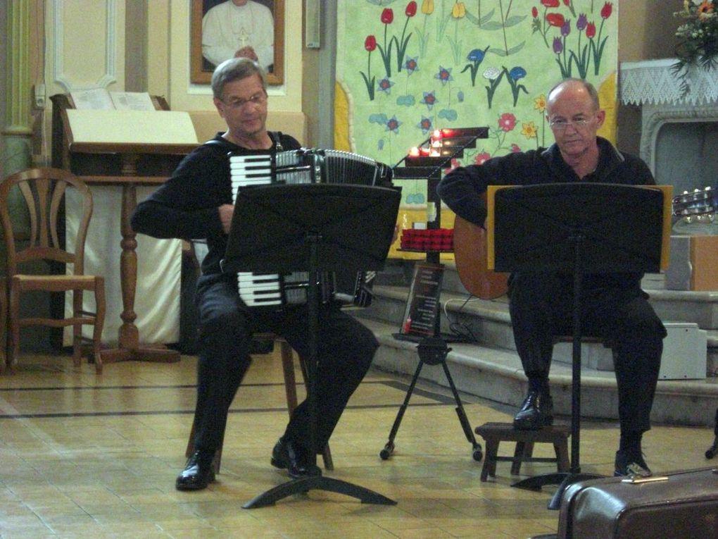 La route des orgues organisée par le syndicat du pays de Nied avec le concours de Bergamasque. Printemps 2008