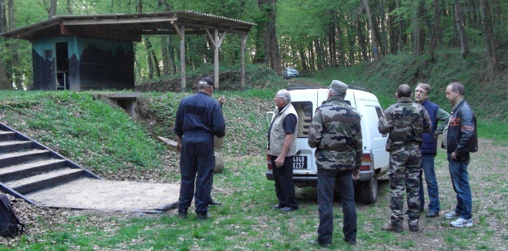 Film réalisé à Hestroff par Jérôme Jacob. Présentation aux autorités locales au sein du Fort aux Fresques.