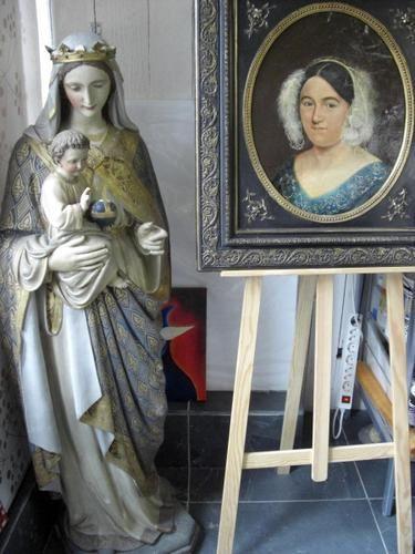 2e portes ouvertes chez Natalia Cinalli de Buenos Aeres, professeur d'art.