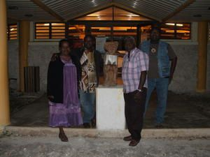 Conteur ivoirien venu partager sa passion à Lifou