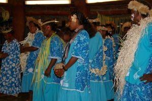 Résidence du groupe culturelle de Dueulu (Gaïca-Lifou) à la médiathèque du 16 au 21 juin 2008