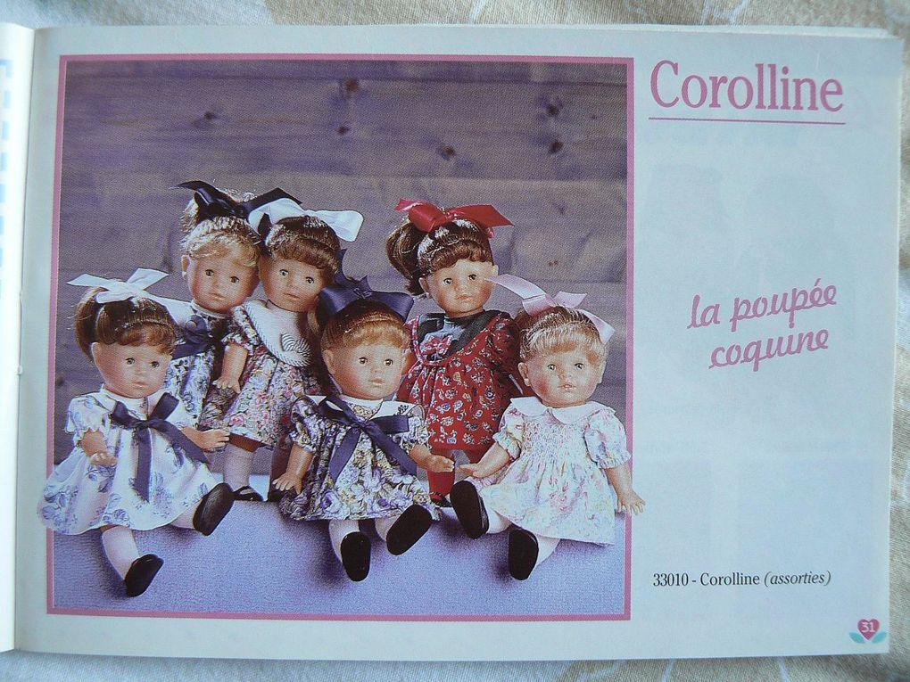 Non comparé au grand catalogue.Le babi corolle est séparé.Imprimé en avril 1995.