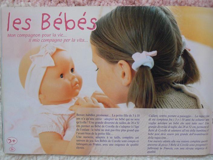 Entièrement différent du catalogue grand format. Le babi corolle est inclus.