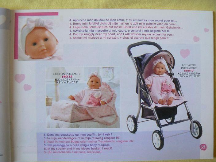 Contenu identique au catalogue grand format, avec quelques minimes différences de présentation. Le babi corolle est inclus.Imprimé en février 2004.