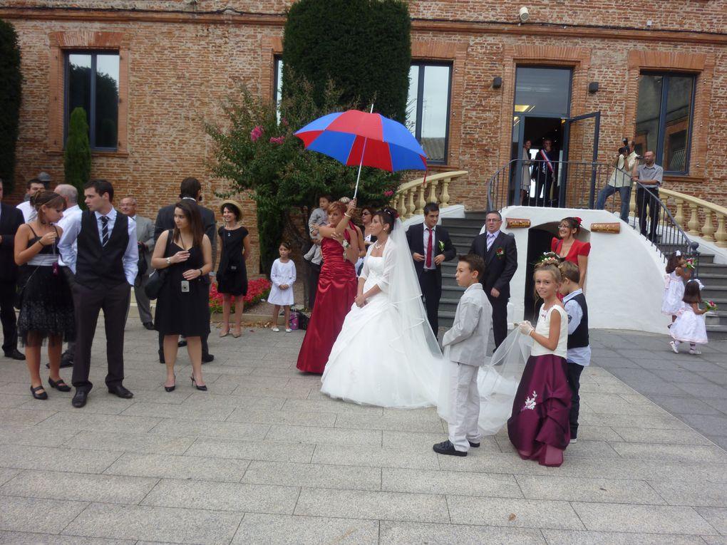 Une belle fête et surtout un beau mariage.Félicitations et plein de bonnes choses à vous deux.