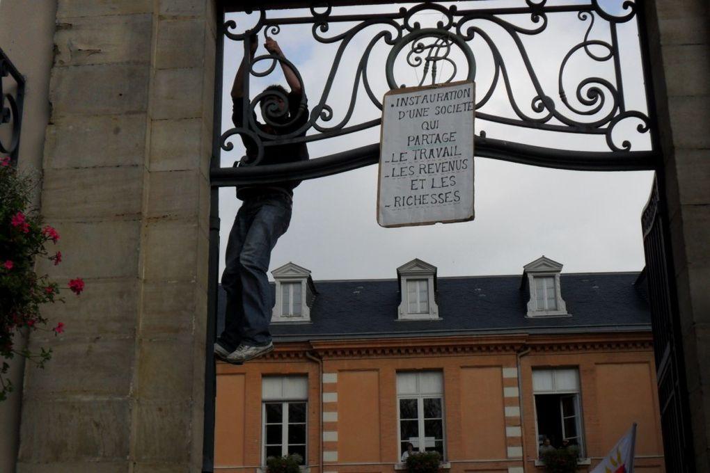 Lycéen-ne-s, cheminots, Aubert-Duval, des profs, des retraités etc...