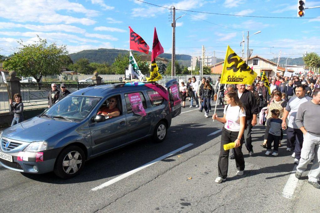 12 000 manifestants et beaucoup de jeunes
