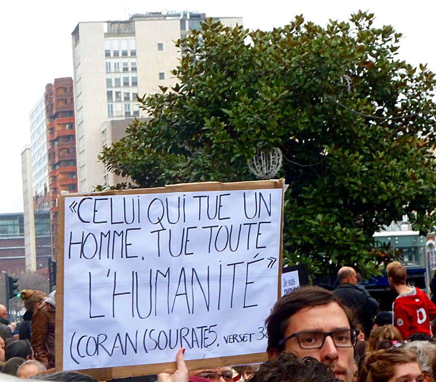 Manif Toulouse le 10/01/2015
