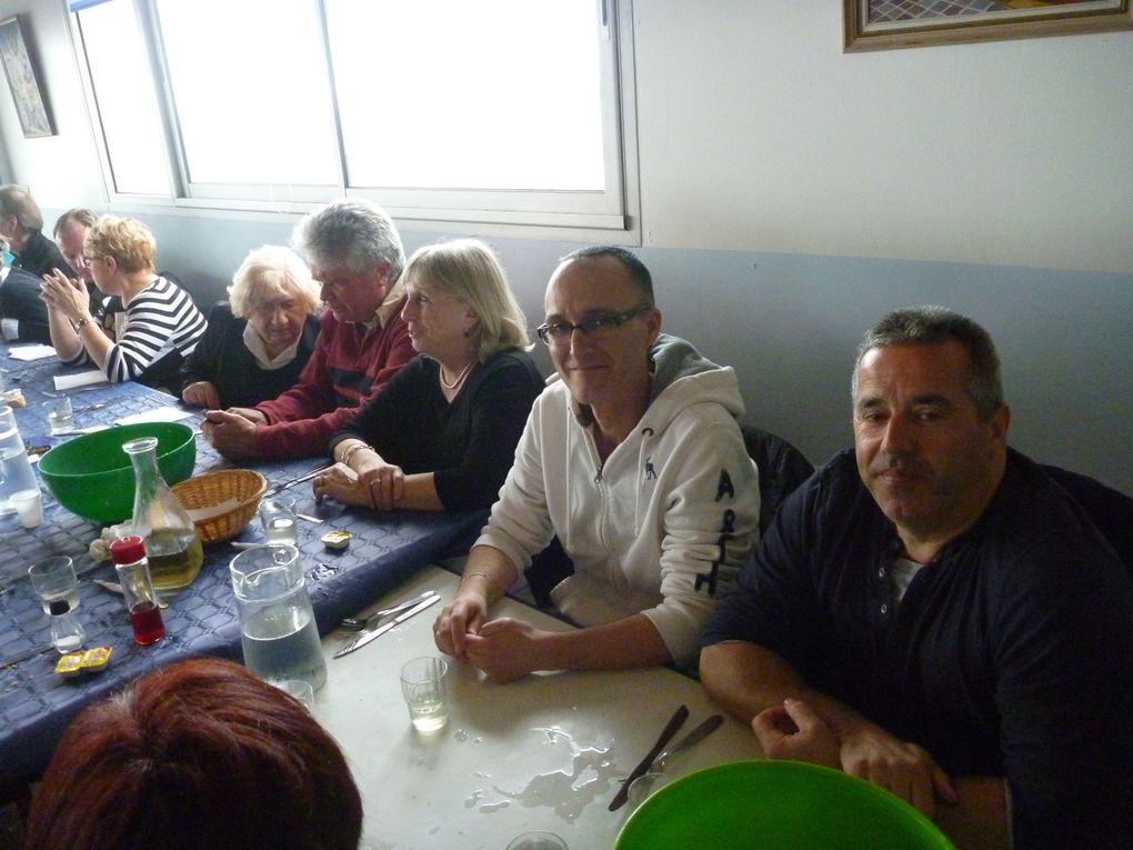 """Repas coquillages chez """"Petit Pierre"""" le 17-03-13"""