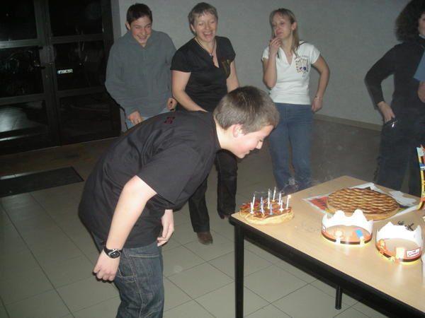 Mercredi 7 janvier 2009Galette des Rois et anniversaire de Julian