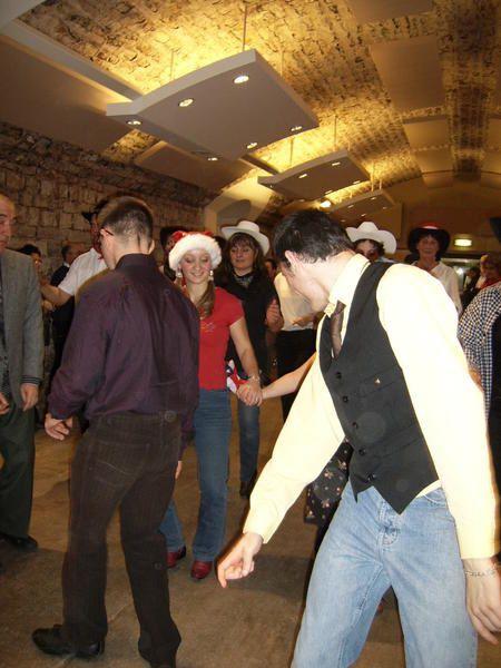 Maison de Nuits-Saint-Georges le 19 décembre 2008 à l'occasion du Noël des Handicapés.