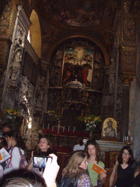 Voyage en Sicile, en Avril 2011,avec les latinistes du lycée Dautet : Palerme, MOnréale, Ségeste, Sélinonte,Agrigente, Taormine et l'Etna.