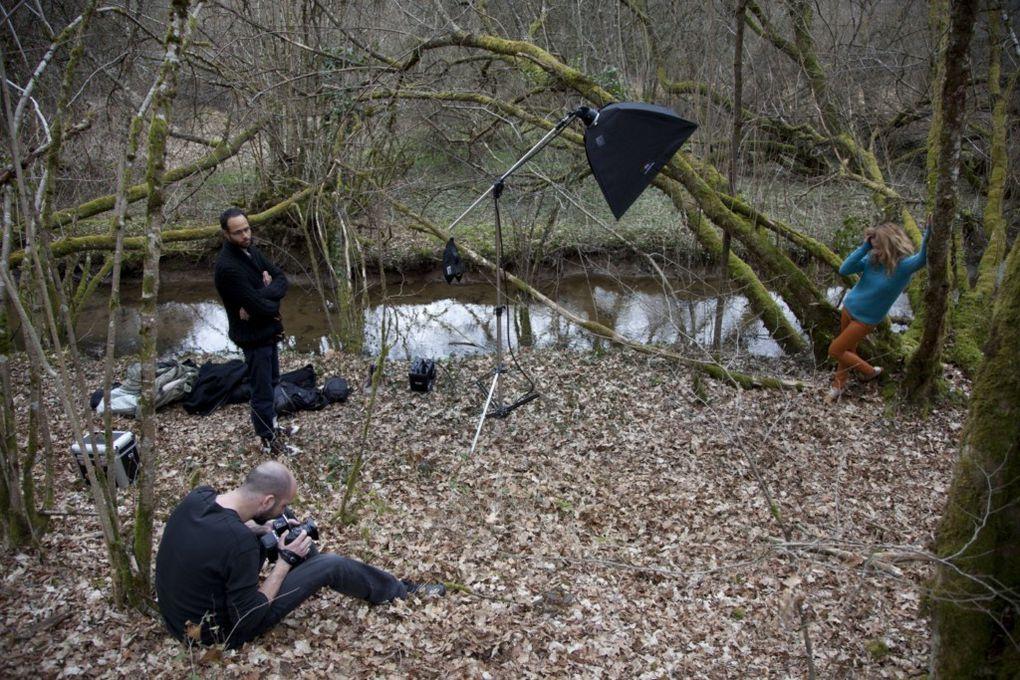 Shooting pour la collection automne hiver 2013