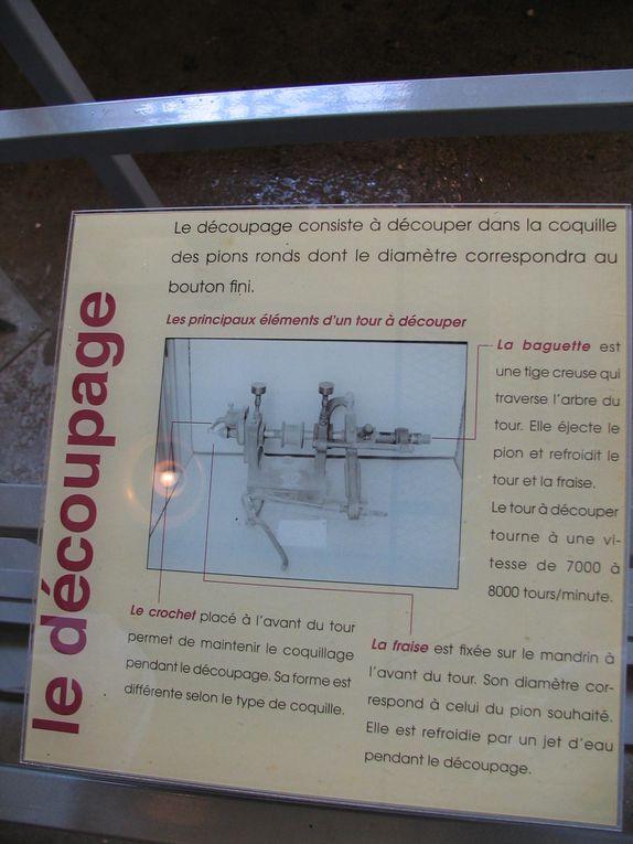 Visite du musée de la nacre à Méru