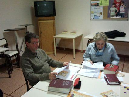 Réunion de préparation à la célébration œcuménique de 2014