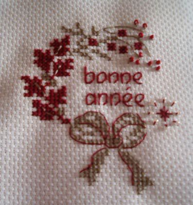 broderie et couture, petites créations perso